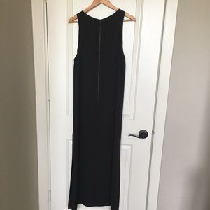 Alice + Olivia Dresses - Alice + Olivia black maxi dress sz L NWT